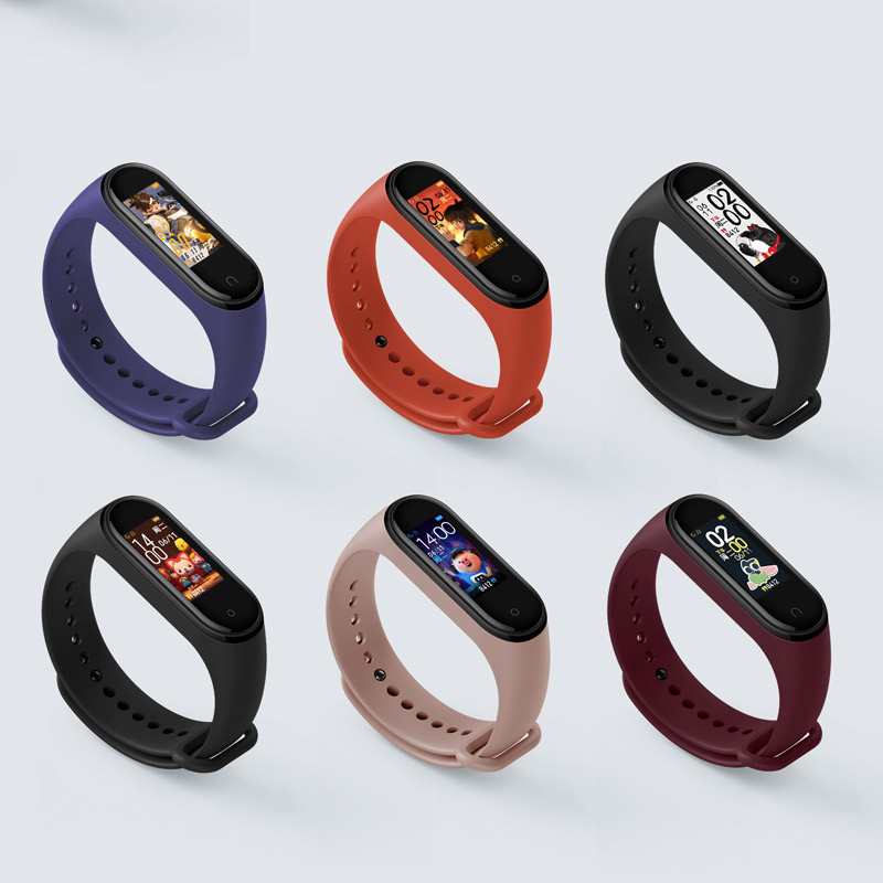 Xiaomi Mi Band 4 Smart Bracelet 3 Color AMOLED Screen Miband 4 Smartband Fitness Traker Bluetooth Sport Waterproof Smart Band 5