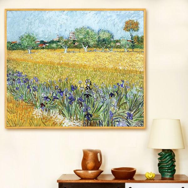 Van gogh iris peinture achetez des lots petit prix van gogh iris peinture en provenance de - Peinture a l huile van gogh ...