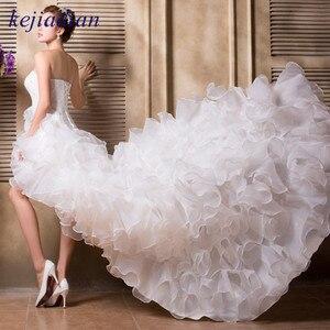 Image 2 - Бальное кружевное платье, женское свадебное платье с оборками