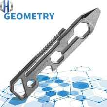 Titanium Alloy Outdoor Portable EDC Multi-function Wrench Hand Opener Screwdriver Tools