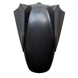 Image 3 - Abs 인젝션 프론트 휠 타이어 펜더 스크럽 머드 가드 머드 플랩 머드 가드 for yamaha mt07 mt 07 MT 07 fz07 2010 2016 2011 2012
