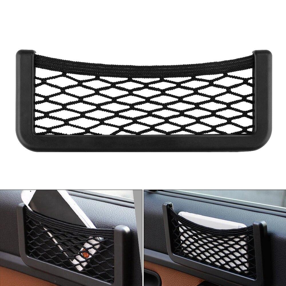 Car Styling Accessories Car Seat Storage Net Bag Phone Holder For VW POLO Golf 5 6 GTI Passat b5 B6 JETTA MK5 MK6 CC EOS Beetle