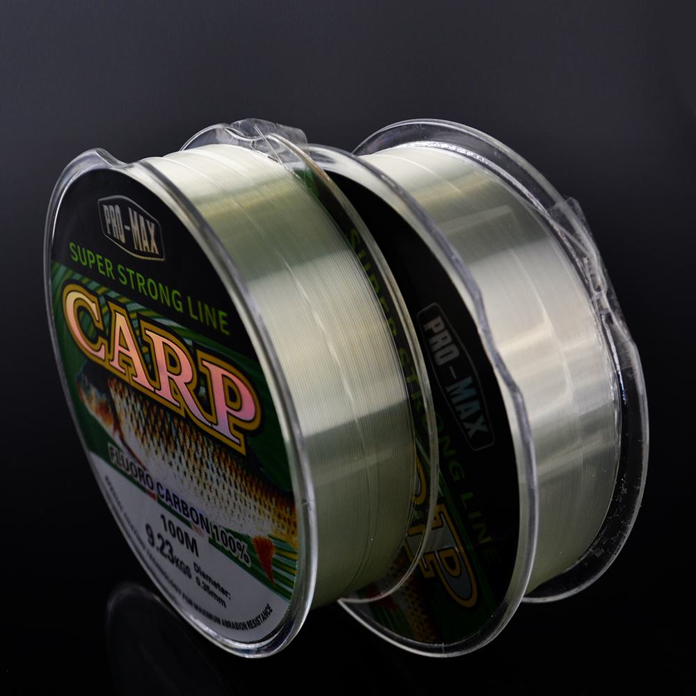 FISH KING Super Hard Strong Gray 100m Fluoro Carbon Fishing Line Peche Carp Fishing Tackle Linha De Pesca Vissen Accessories