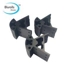 frame corner for Rostock Kossel mini K800 3d printer frame assembl aluminium alloy Motor Mount Frame
