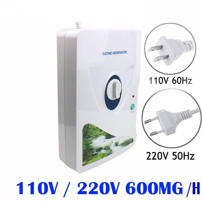 Ménage Générateur D'ozone Purificateur D'air 110 V 220 V Portable Concentrateur D'oxygène Ozonizador Ozonio Ozonateur Purificador De Aire