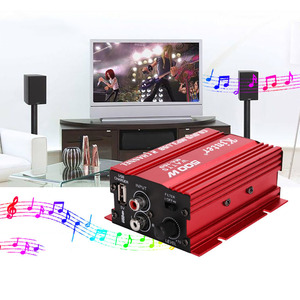 12V Car Amplifier 2CH 500W USB