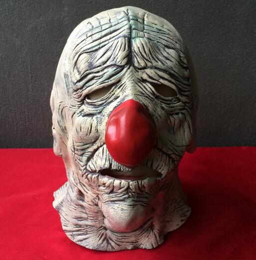 Adults Halloween Deluxe Latex Full Head Old Man Mask Breaking Bad Toys Full Head Clown M ...