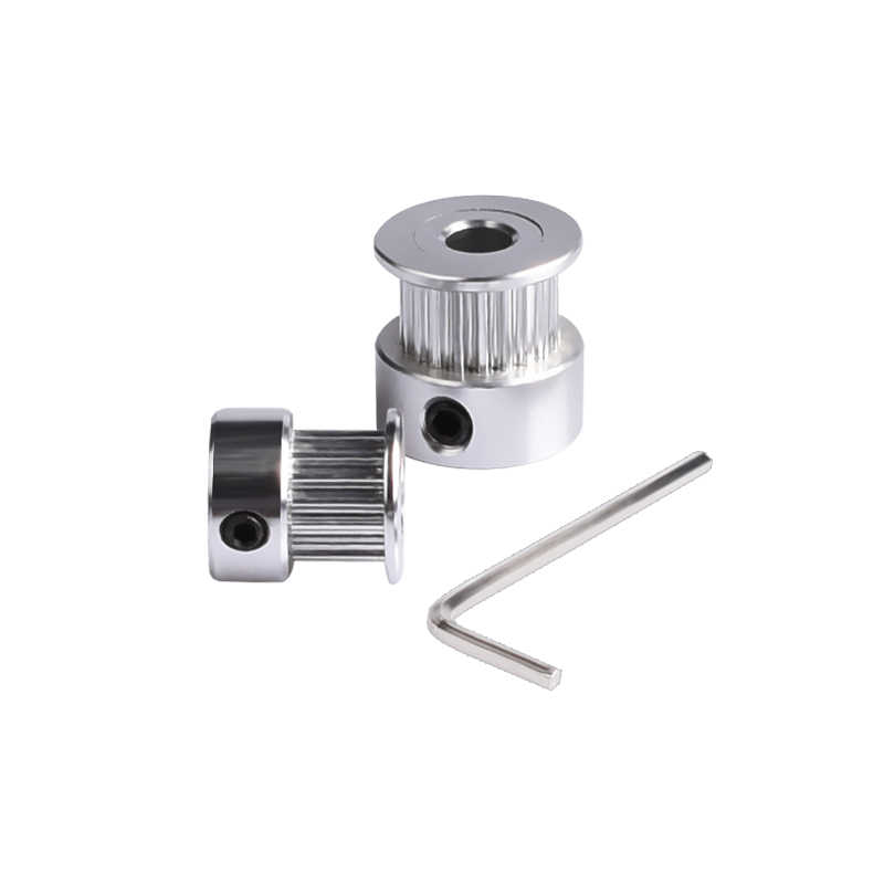 3D Printer Parts GT2 20Teeth 16 Teeth 20 Teeth Bore 5/8MM Timing Aluminum Pulley For GT2-6MM Open Timing Belt Synchronous Gear