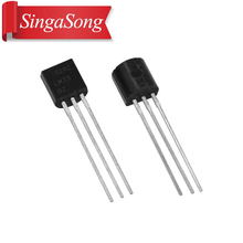 Free shipping 50Pcs/Lot LM35DZ LM35D TO 92 LM35 TO92