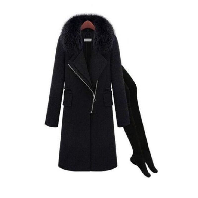 Nový přívod ženský kabát, kvalitní ženská vlna / - Těhotenství a mateřství