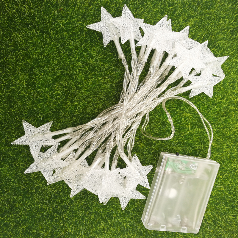 3m 30leds 3*AA Battery powered led string Lights outdoor Waterproof christmas light bulbs led star light Free Shipping