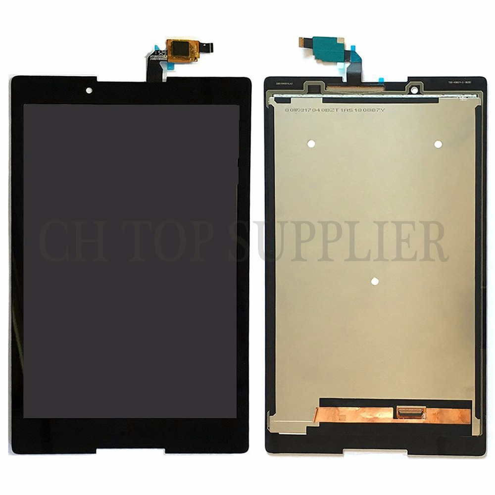 For Lenovo TB3-850F tb3-850 tb3-850F tb3-850M Tablet PC Touch Screen Digitizer+LCD Display Assembly Parts Black 100% Tested lcd display touch screen digitizer assembly with frame for lenovo tab 3 tab3 8 0 850 850f 850m tb3 850m tb 850m tab3 850 white