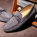 New color men flats shoes fashion men's loafers casual moccasins Leather Peas Shoes men driving Shoes