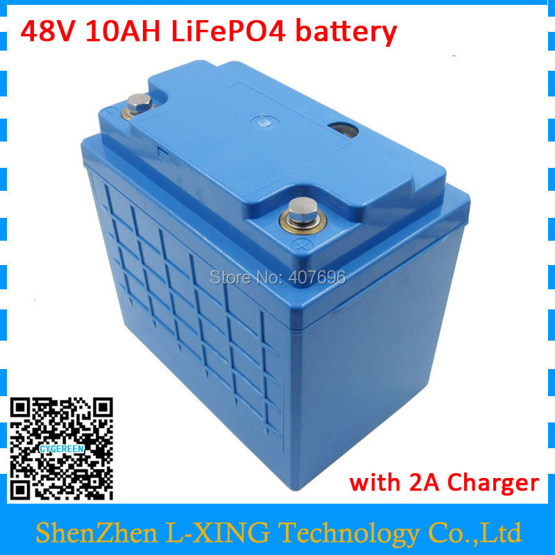 48Volt LiFePO4 battery 48v 10ah Free customs fee 16S 3P battery pack use 3.2V 3300mah 26650 cells with 58.4V 2A Charger воблер суспендер rapala jointed shad rap jsr07 bsd 2 1м 4 5м 7 см 13 гр