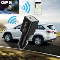 Localizador global de gps gps tracker estilo do carregador do carro do espião em tempo real gsm que segue usb