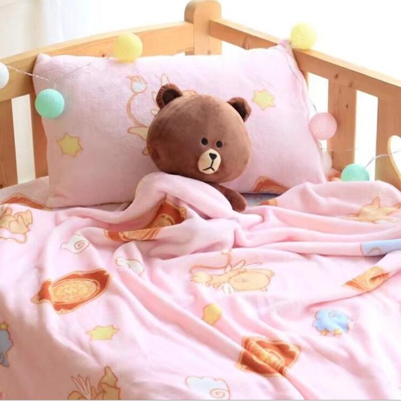 Cartoon Cardcaptor Sakura Plush Toys Soft Pillowcase Air Condition Blanket Birthday Christmas Gift #1045