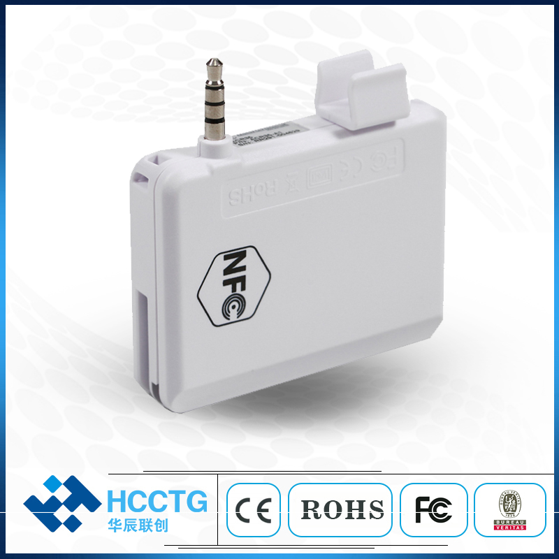 NFC de Jack de Audio de lector de tarjeta Magnética/teléfono móvil lector de tarjeta de crédito con SDK libre - 6