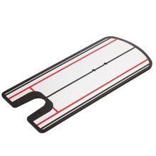 цена Golf Putting Mirror Training Eyeline Posture Correction Swing Practice Trainer Alignment Aid онлайн в 2017 году