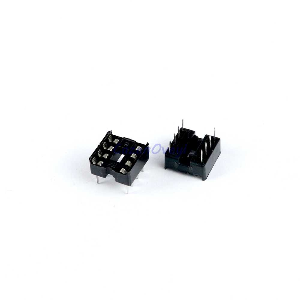 10 ชิ้น/ล็อต IC ซ็อกเก็ต DIP6 DIP8 DIP14 DIP16 DIP18 DIP20 DIP28 DIP40 pins ตัวเชื่อมต่อ DIP Socket 6 8 14 16 18 20 24 28 40 pin