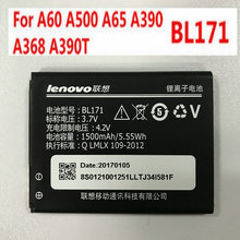 1500mAh Full Capacity Original battery for Lenovo A60 A500 A65 A390 A368 A390T A319 Cell phone BL171