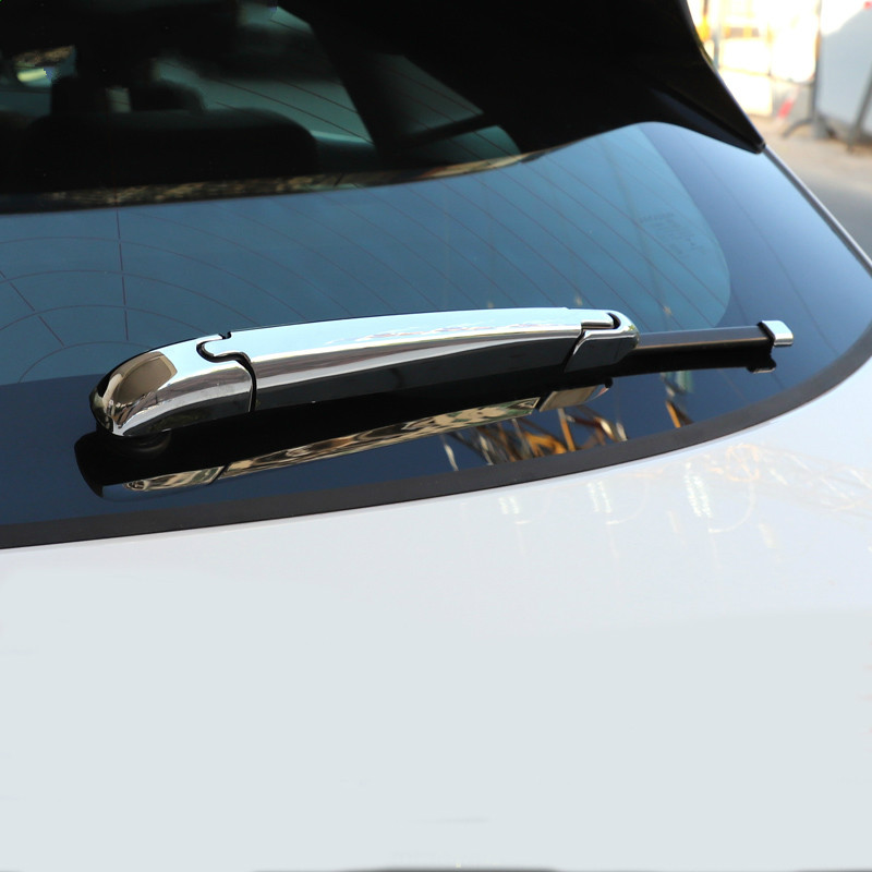 Car Styling For Jaguar E Pace 2017 2018 2019 ABS Chrome Rear Window Wiper Blades Cover Trim 4pcs in Chromium Styling from Automobiles Motorcycles