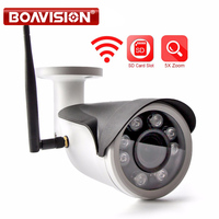 HD 1080P WIFI IP Camera WI FI Sony 307 5X Zoom Auto Outdoor CCTV Surveillance Wireless Camera TF Card Slot APP CamHi