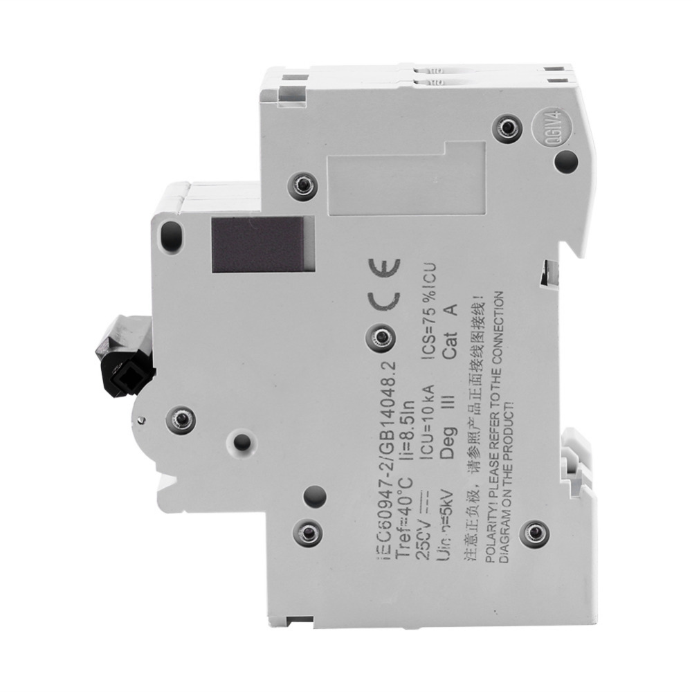 C65H DC 2P 16A Low voltage Miniature Circuit Breaker AC 250V 2 Pole Circuit  Breaker Air Switch -in Circuit Breakers from Home Improvement on  Aliexpress.com ...