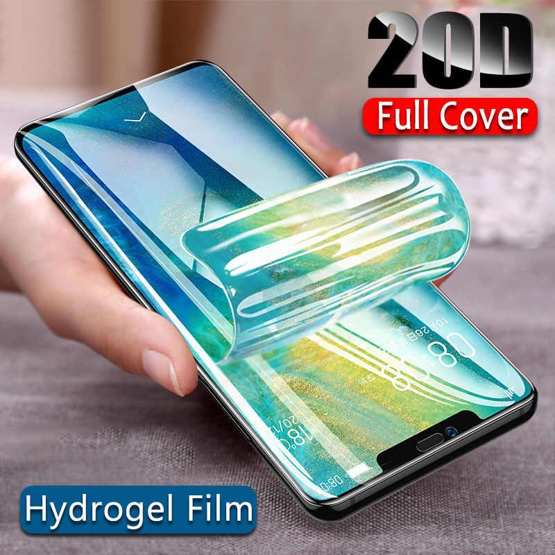20D هيدروجيل طبقة رقيقة واقية لهواوي P20 P10 برو ماتي 20 10 لايت واقي للشاشة فيلم ل P الذكية 2019 نوفا 3 3i وليس الزجاج