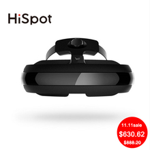 Hispot H2 Video Glasses 800inch Virtual screen smart glasses 3D VR Glasses VR games/film VR movies Virtual Reality Home IMAX