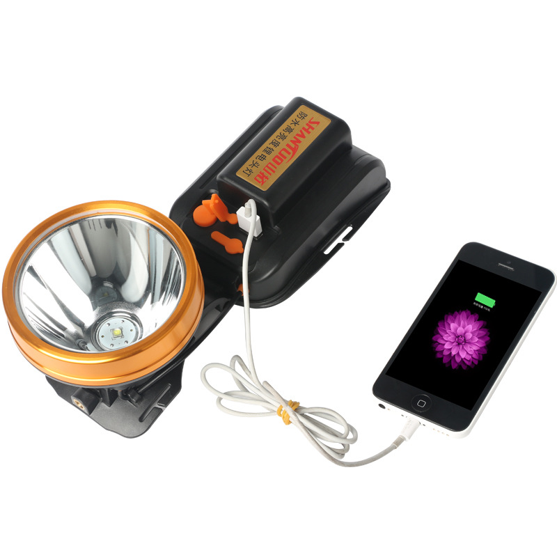 Rechargeable super bright headlamp 4