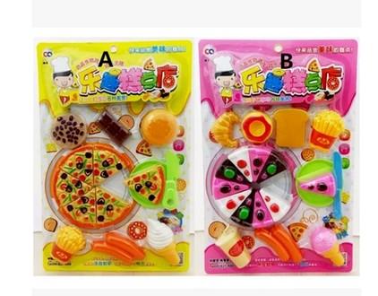 pastelera pastel de pizza de cocina de juguete set pretend jugar el juego para nios