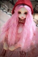 Mudança de cor perucas boneca apropriado para blyth boneca 1/3 1/4 1/6 1/8 bjd/dd/msd/yosd boneca tio acessórios perucas bjd