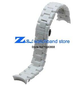 Image 2 - Keramische horlogeband 18mm 22mm horloge band voor armani AR1400 AR1403 AR1406 AR1401 AR1407 AR1409 AR1443 AR1410 AR1475 horloge band