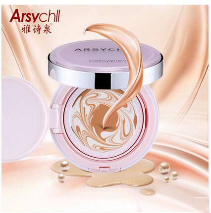 5 piece, ARSYCHLL  Moisturizing Essence Powder Cream CC Cream Nude makeup concealer Moisturizing Essence Foundation Frost Cream chanel 5ml cc cc cream