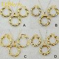 Ethlyn Новое прибытие Эфиопии двойной цвет Круглый ожерелье серьги sets18k позолоченные Дубай/Африканский/Эритреи ювелирные изделия для женщин