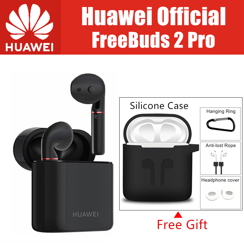 HUAWEI FreeBuds 2 Pro Earphone Bluetooth 5 0 Wireless IP54 Waterproof Headset Double Tap Control handfree