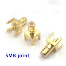 SMB-KE Connector Copper SMB RF Coaxial PCB Circuit Board Terminal