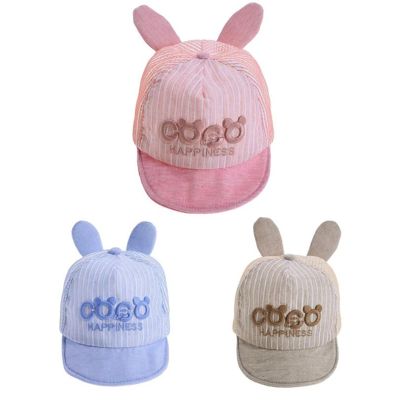 Unisex Baba Hat Lányok Lányok Baseball sapka gyerek Baby Sun Caps ... 39918d9348