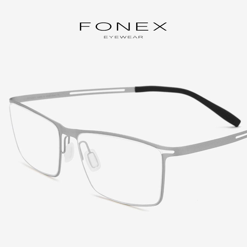 db6ddb2a51 Titanio Marco de gafas hombres prescripción 2019 ultraligero La elástico miopía  óptica gafas de hombre sin tornillos gafas 874