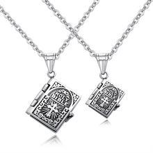 Библейский кулон в Писании ожерелья для влюбленных стиле панк