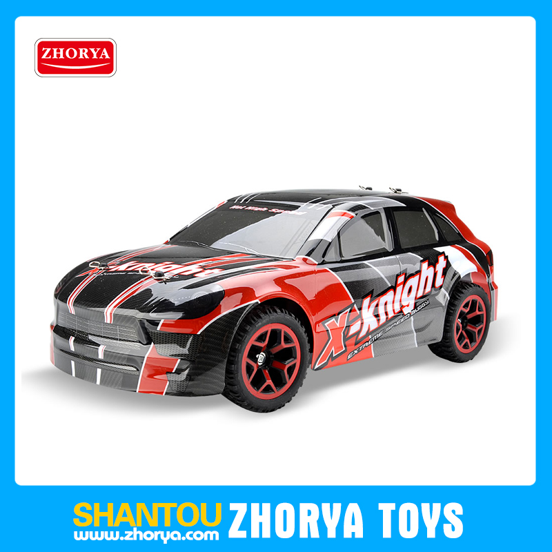 ZhoryaNew 2.4G 1:18 scale 20km/h speed rechargeable power wheels plastic crazy rc realistic toy car for big Kid