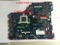 Placa madre del ordenador portátil para lenovo g500 la-9631p con 4 chips de vídeo tarjeta gráfica 100% probado completamente