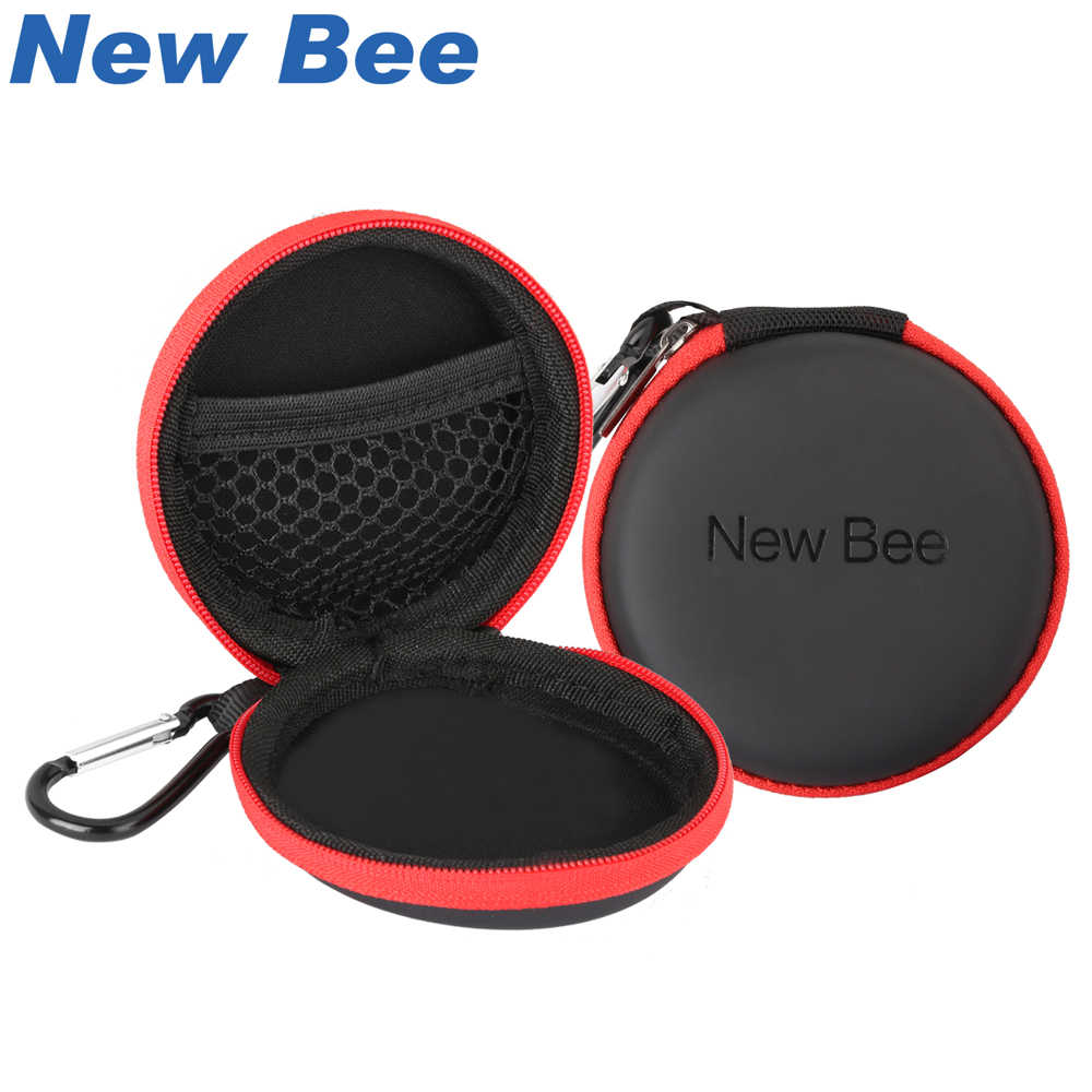 New Bee Fashion Portable Earphones Case Wireless Earbuds Bag High Quality PU Headset Box for Apple Airpods Headphones