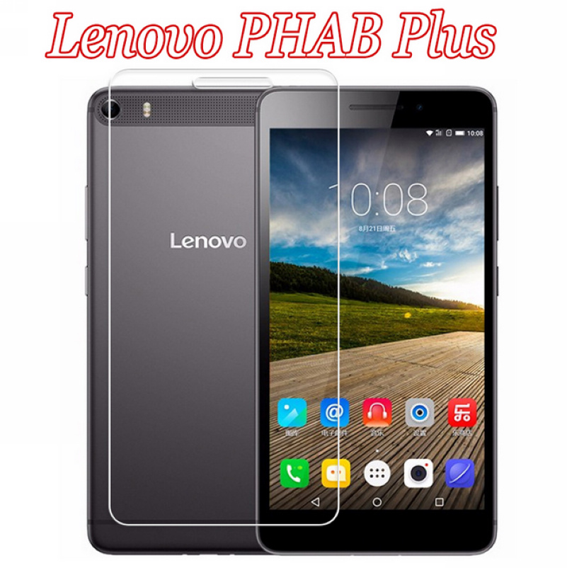 For Lenovo Phab Plus 6.8 Tablet PC Ultrathin Premium Explosion-Proof Tempered Glass Screen Protector