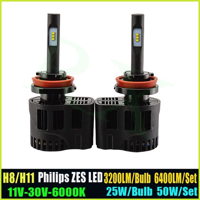 2016 New High Quality 25W <font><b>3200LM</b></font> 6000K car h11 <font><b>led</b></font> headlight bulb for all cars,car H1 H3 <font><b>H7</b></font> H8 9005 9006 <font><b>led</b></font> headlamp kit bulbs
