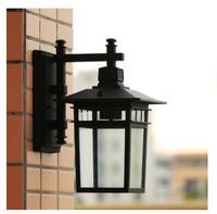 Continental waterproof wall lamp Les Loges Du Park Hotel living room balcony corridor fence aluminum outdoorLU627 ZL458 LU109