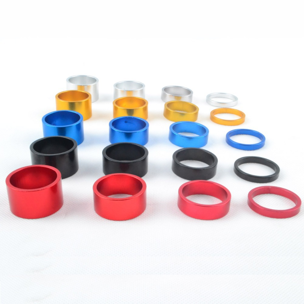 Bicycle Headset Stem 28.6mm Colorful Carbon Spacer 5//10//15//20mm Free Shipping