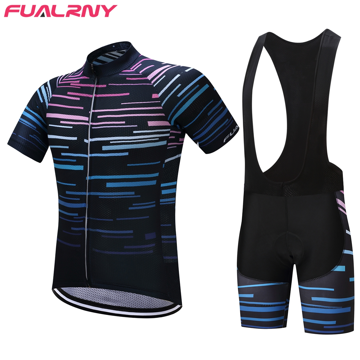 FUALRNY 2017 Pro Summer Cycling Jerseys set Breathable MTB Bike Clothing Road Bicycle Sportswear Maillot Ropa Ciclismo For Man32 cycling clothing rushed mtb mavic 2017 bike jerseys men for graffiti cycling polyester breathable bicycle new multicolor s 6xl