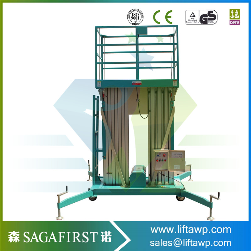 Supermaket,mall,factory,station, Many Indoor And Outdoor Maintenance Aluminum Lifting Platform