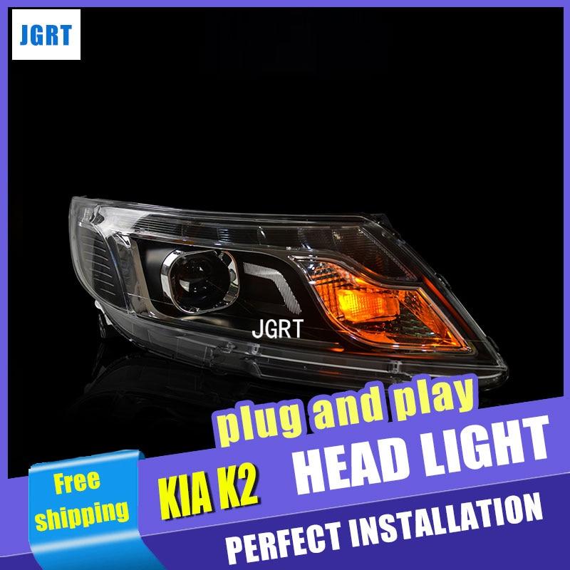 car styling For Nissan Tiida headlights U angel eyes DRL 2011-2015 For Nissan Tiida LED light bar DRL  bi xenon lens h7 xenon navipilot droid2 nissan tiida 2015 android